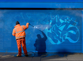 Airbrush/Graffiti Entfernung-
